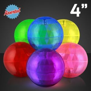 Assorted Air Bounce Ball w/ Blue Led LED Lights
